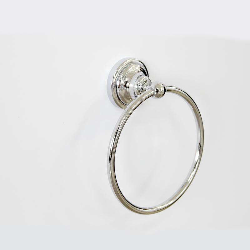 Полотенцедержатель-кольцо Грета Chrome