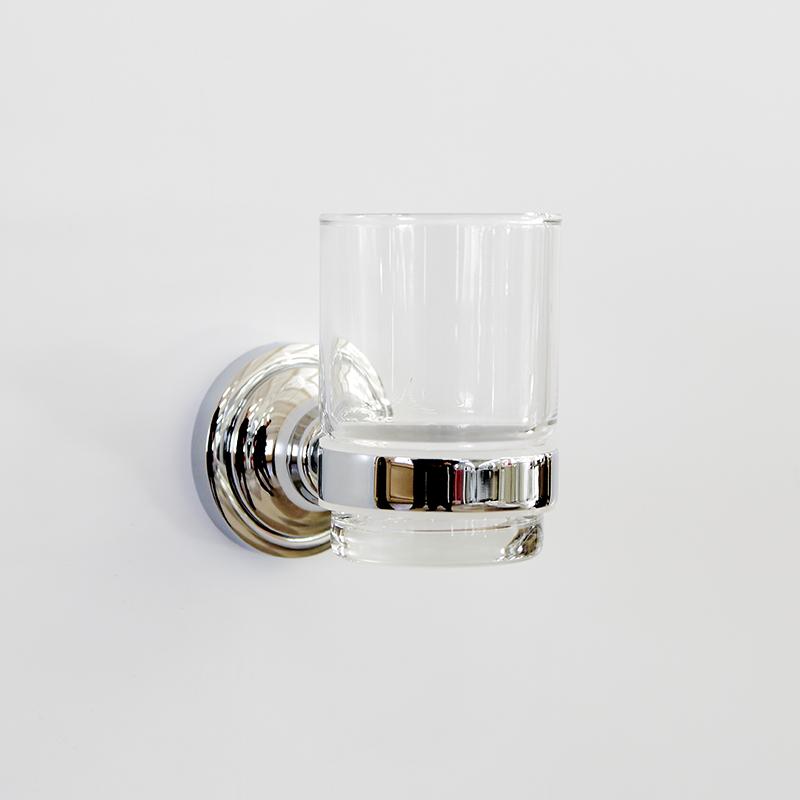 Настенный держатель-стаканчик Грета Chrome
