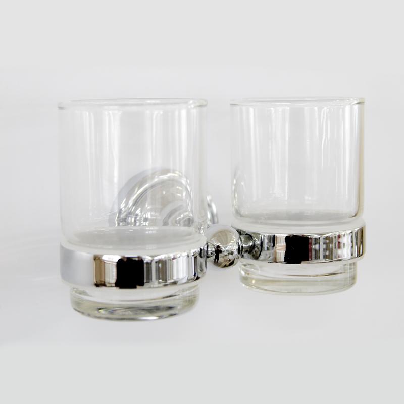 Настенный держатель-стаканчик двойной Грета