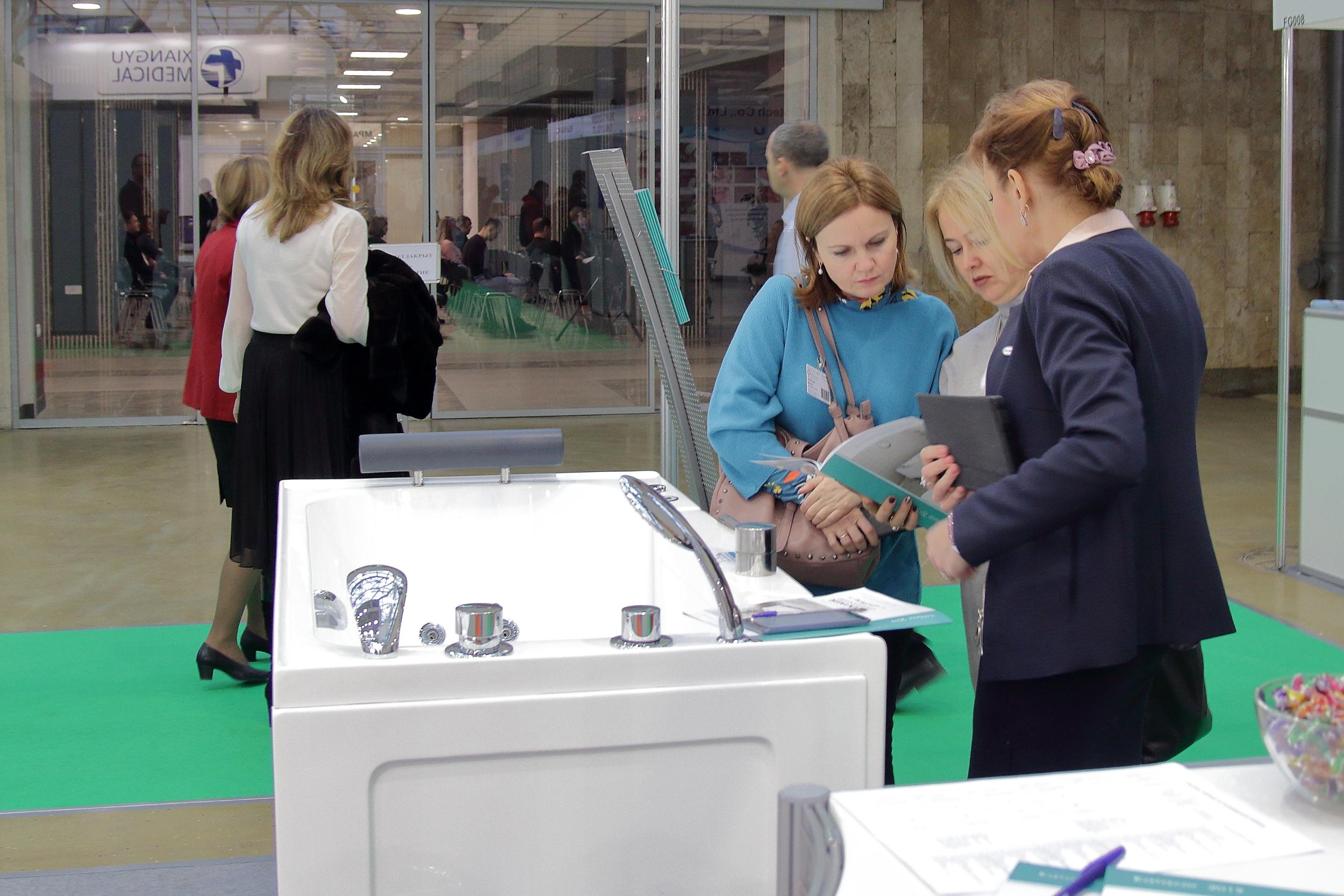 Компания Радомир на выставке Здоровый образ жизни 2018