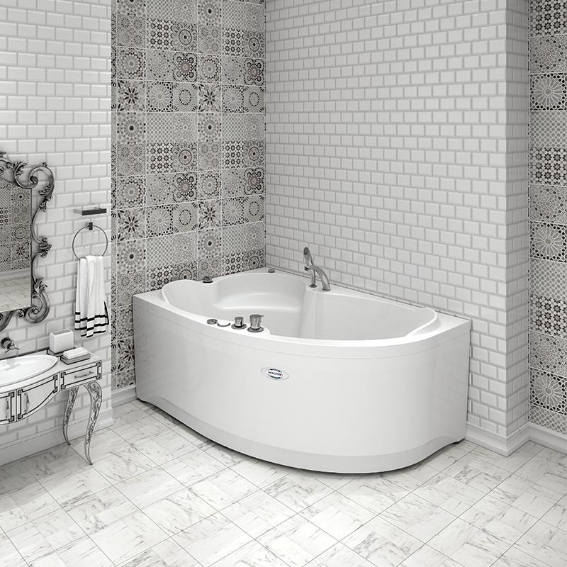 Акриловая ванна Ирма 169х110