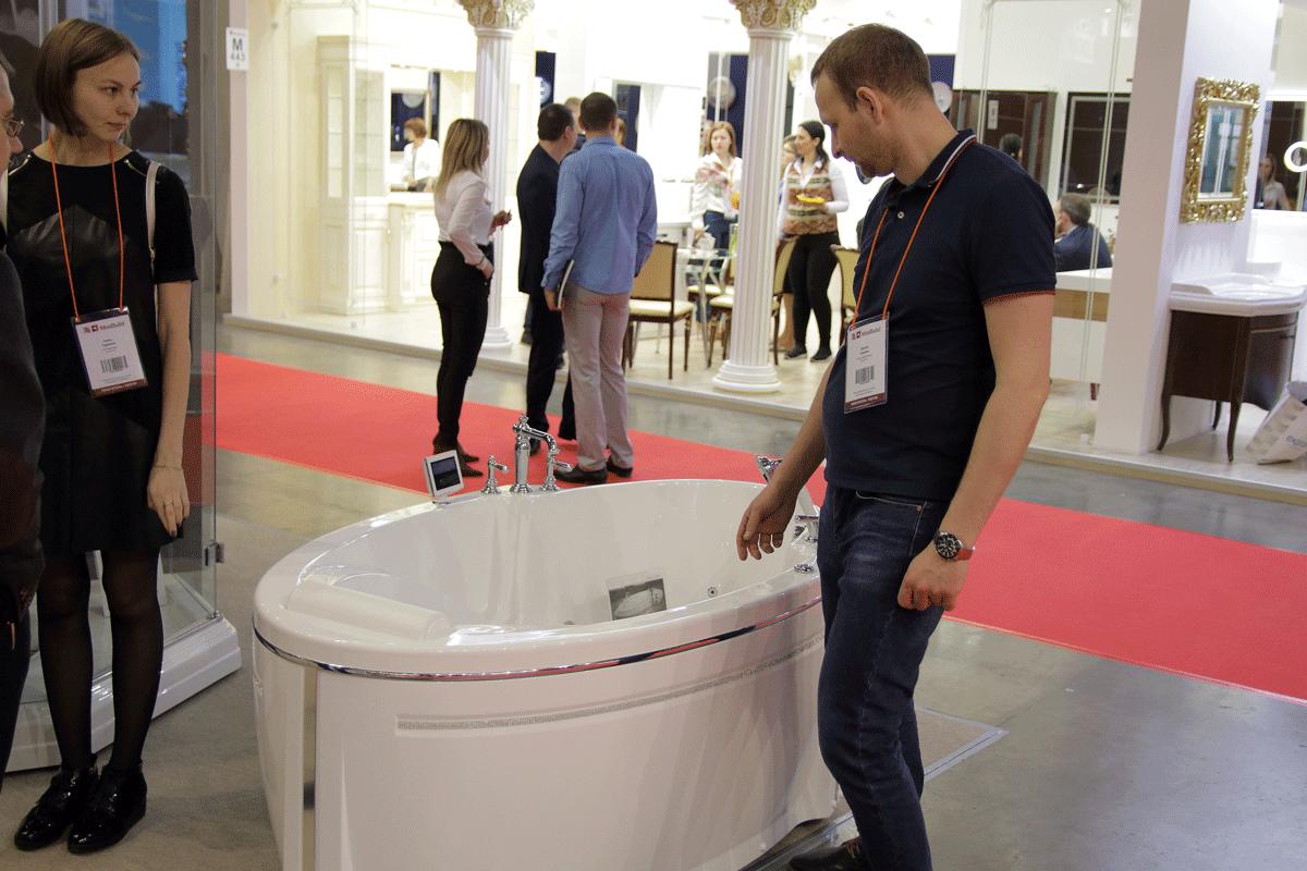 Компания Радомир на выставке Mosbuild 2019
