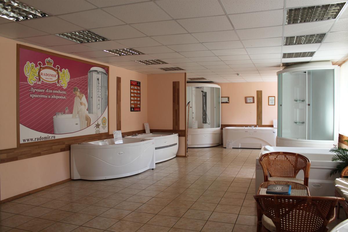 Выставочный зал компании Радомир