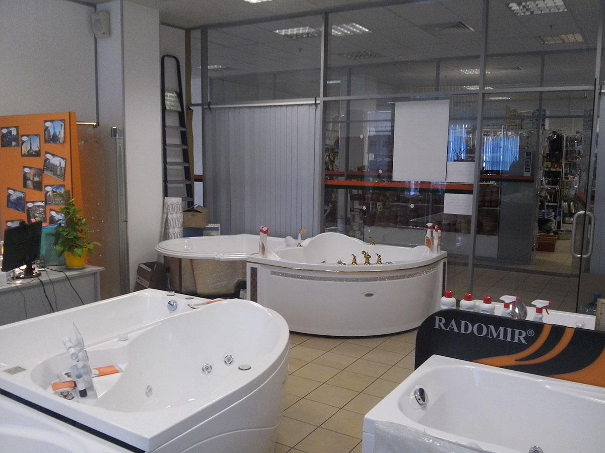 Акриловые ванны купить недорого в Санкт-Петербурге